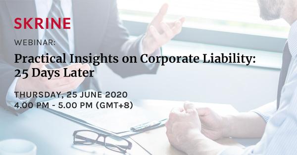 25 June 2020, Thursday, 4.00pm – 5.00pm