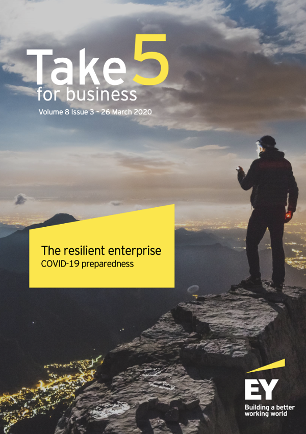 The resilient enterprise COVID-19 preparedness by EY