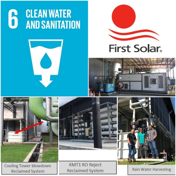 First Solar – Water Usage Reduction Initiatives