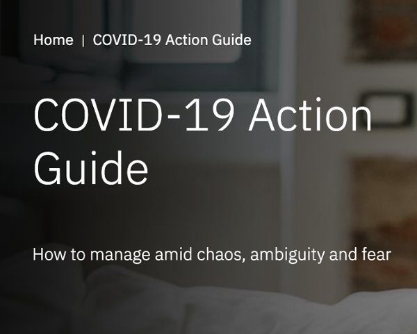 Covid-19 Action Guide by IBM