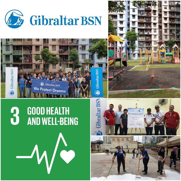Gibraltar BSN - Creating a Healthier Community at Abdullah Hukum Apartments