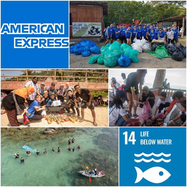 American Express – Initiatives Towards Life Below Water