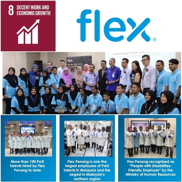 Flex Malaysia – Productive Employment and Decent Work for PwD Talent