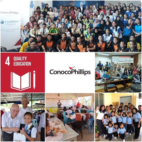 ConocoPhillips – Commitment Towards Education in Malaysia