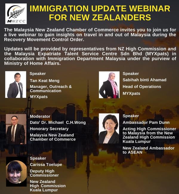 Immigration Update Webinar for New Zealanders