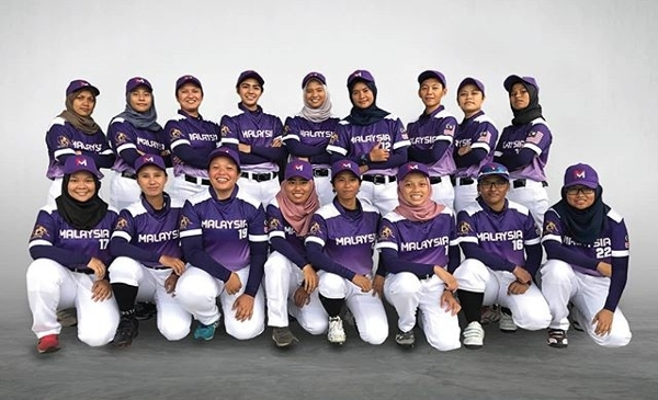Women Baseball Malaysia (WBM) came in Bronze at the 2019 SEA Games