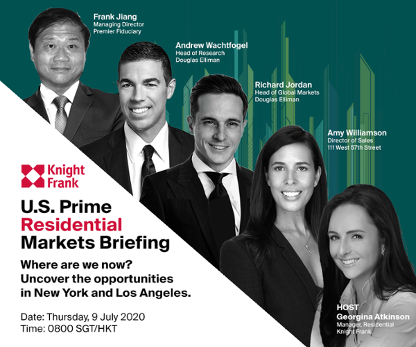 U.S. Prime Residential Markets Briefing - July 9 at 8:00 a.m.