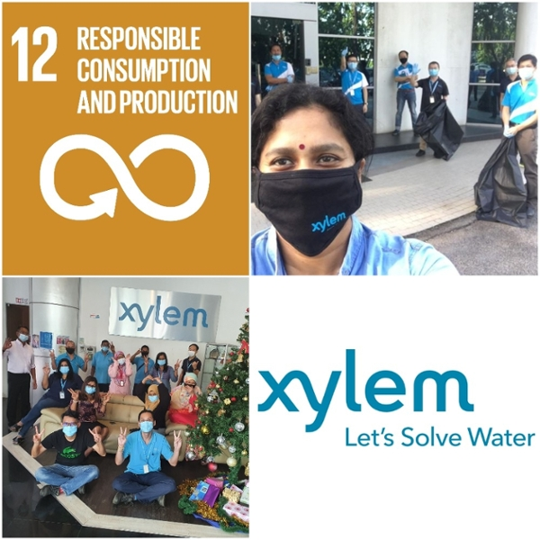 Xylem Water Solutions Malaysia Sdn. Bhd. – Initiatives Towards Responsible Consumption and Production