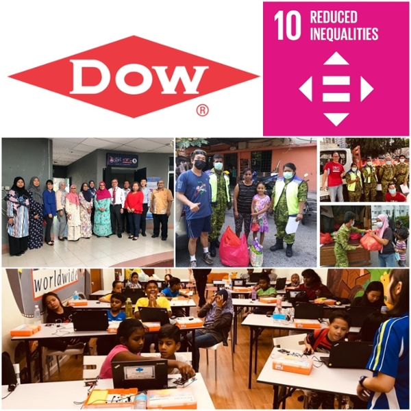 Dow Chemical - Initiatives Towards Reducing Inequalities