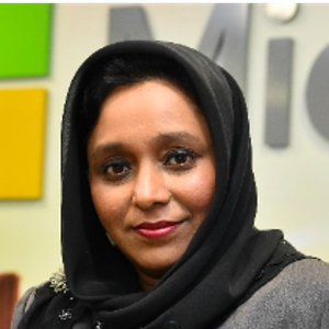 Dr. Jasmine Begum (Director, Legal and Corporate Affairs of Microsoft (M) Sdn. Bhd.)
