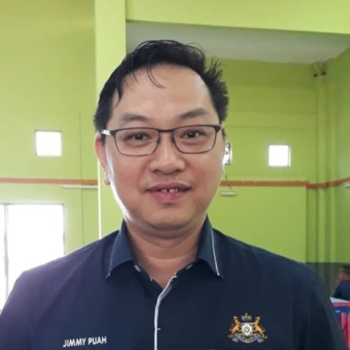 Y.B. Jimmy Puah (Chairman of Investment and Utilities Committee at Johor State Executive Council)